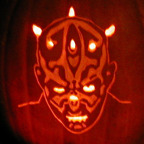 the gallery for gt darth maul pumpkin stencil