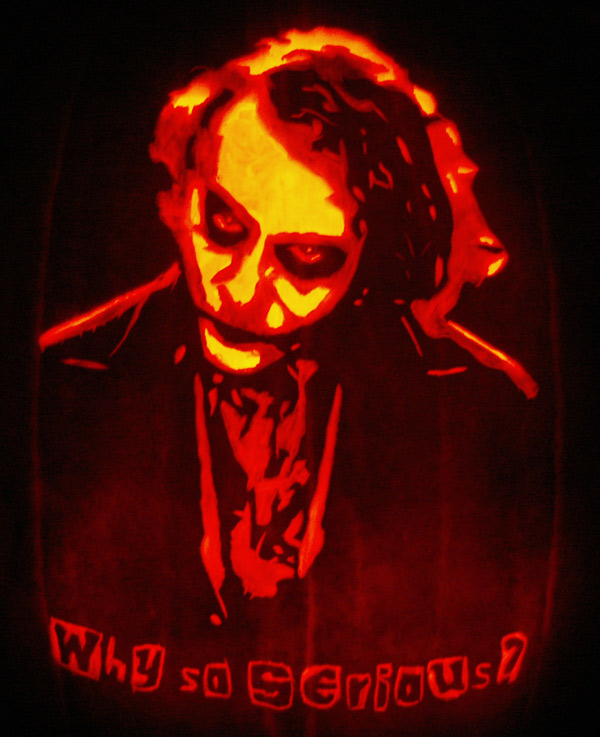 Pumpkin Carving: Joker - Joseph
