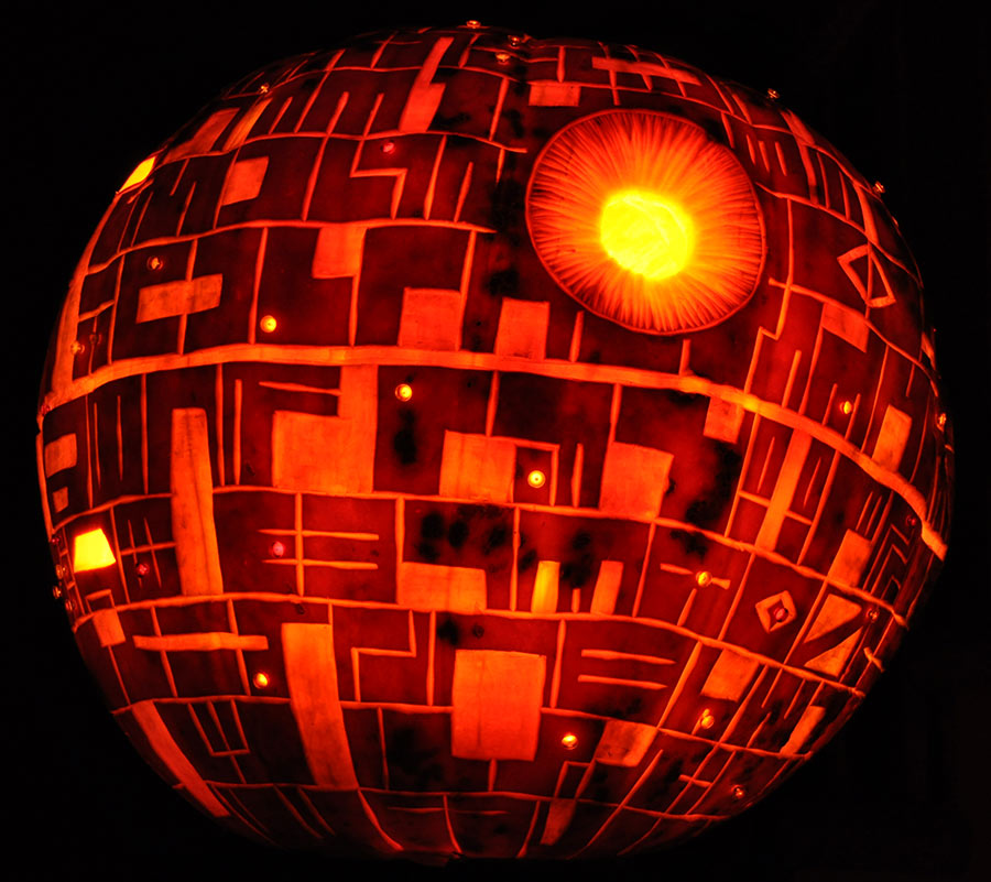Carving The Death Star Tutorial Now Online